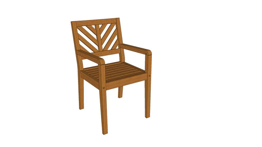 Cadeira Eko com braços