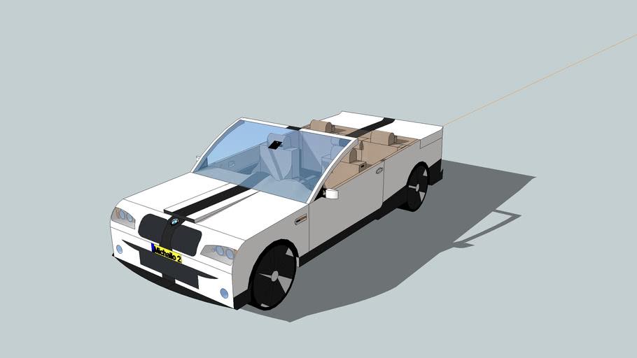 Aangepaste BMW M3