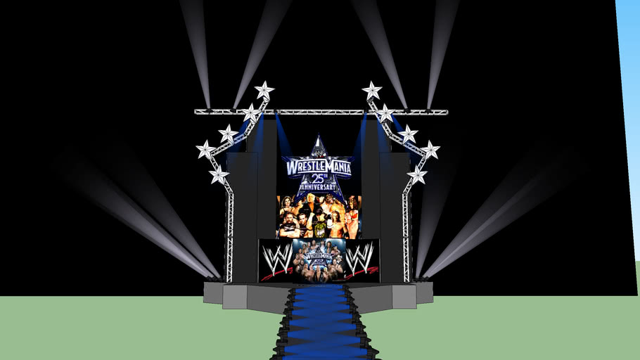 My Wrestlemania 25 Stage Concept