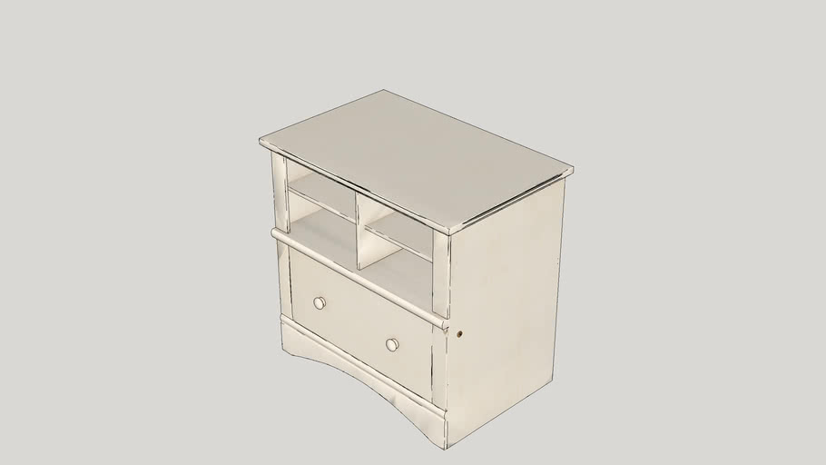 Pinellas 1 Drawer Chest
