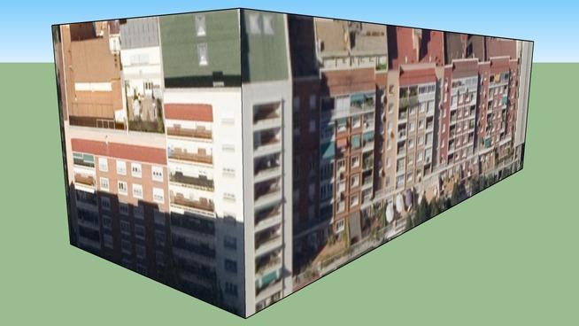 马德里, 西班牙的建筑模型