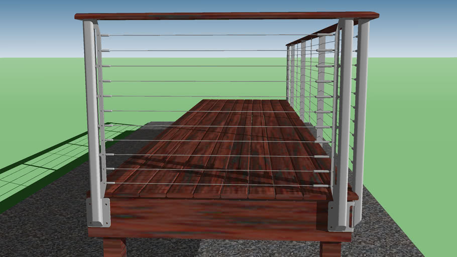 Chesapeake Style - Cable Railing System