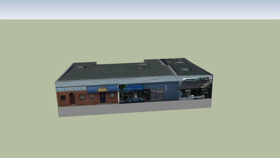 Landing Pub - Facade Improvements - Before