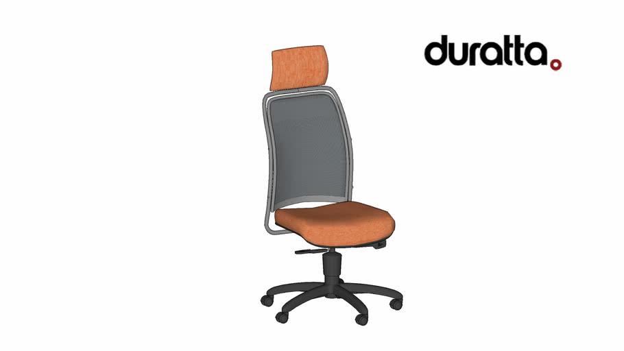 Cadeira Agnes Alta + Giratória sem Braço