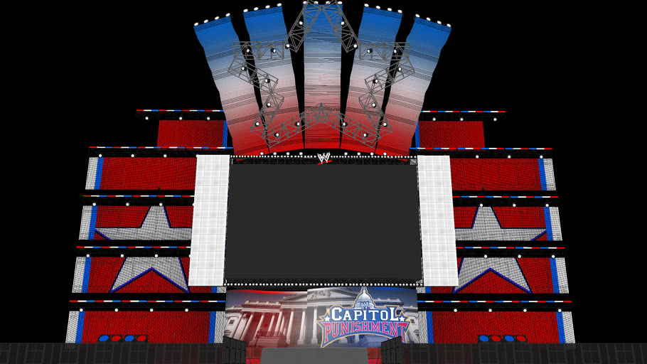 WWE Capitol Punishment 2011 Concept Stage