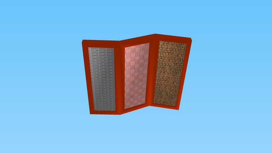 paneled room divider