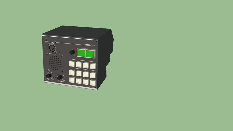 DHD RM 4200: RM420-027 - Talkback Panel
