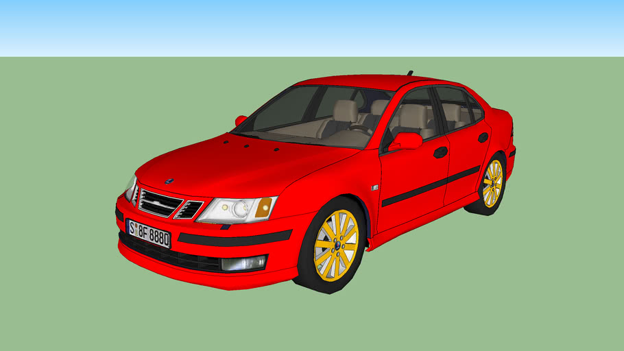 Saab 9-3 edited and modified 1st draft