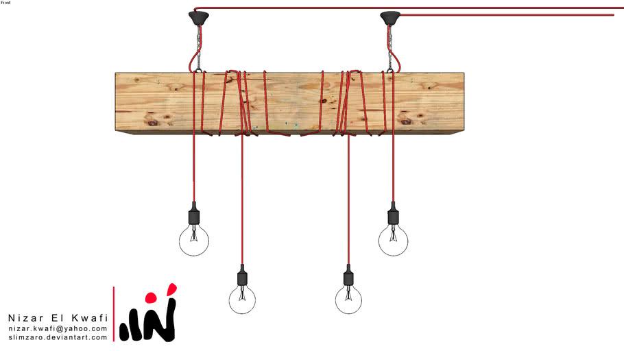 Anko wooden light