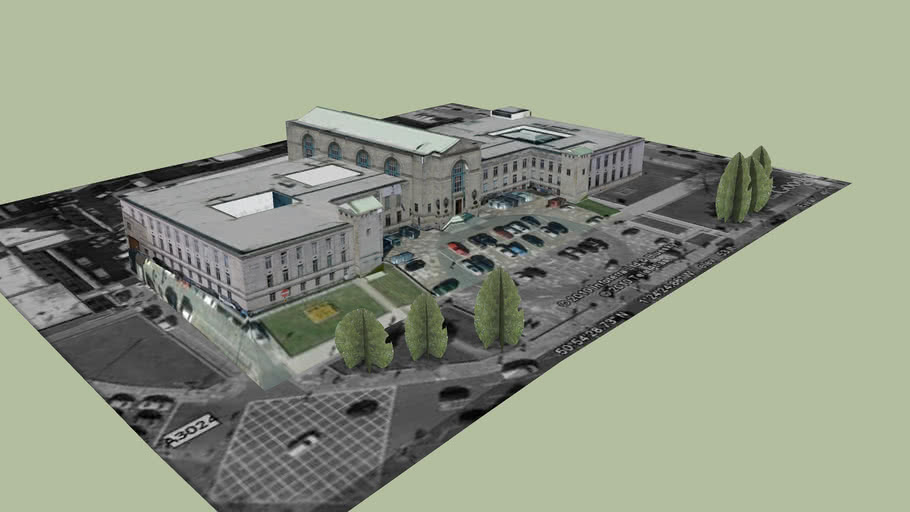 Southampton Civic Centre South wing