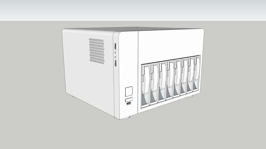 U-NAS NSC-810A Server Chassis 8bay case