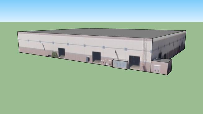 Building in Galt, CA, USA