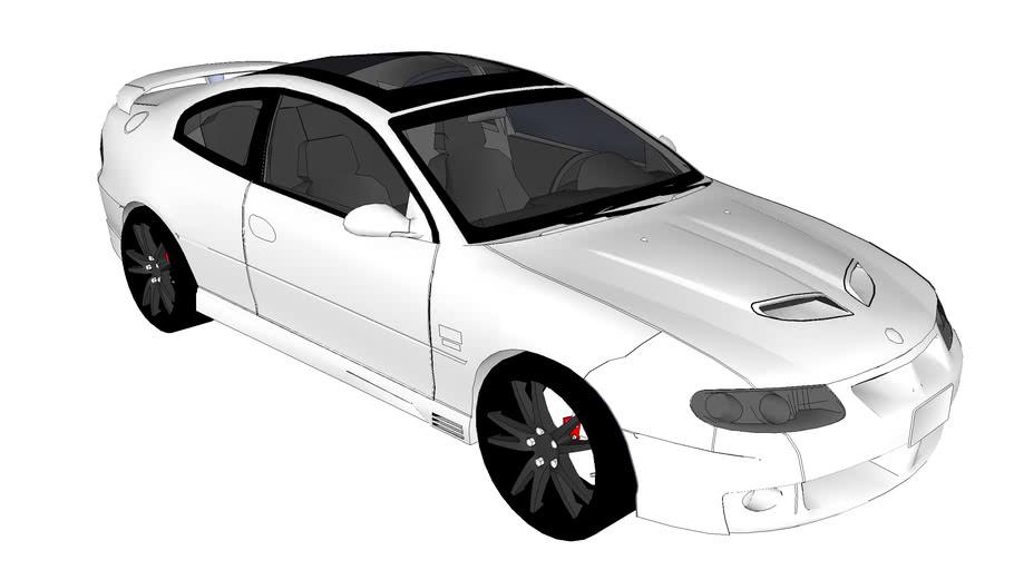2004 Vauxhall Monaro VXR