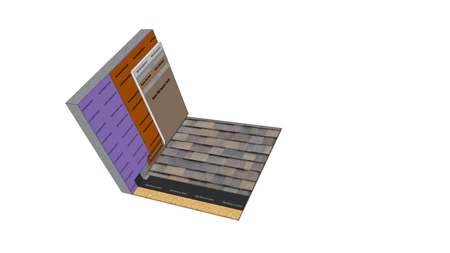 Rollershield Drainage CIFS™ Sloped Roof Termination