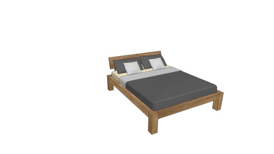 BA730, Basel Bed 160x200cm