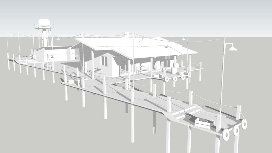 Building house Дом рыбака