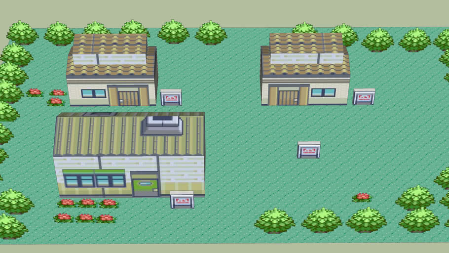 Littleroot Town (pokemon zaphire)