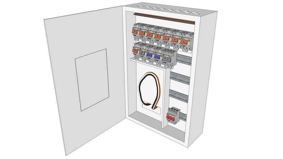 Electric Cabinet (Sikringskap)