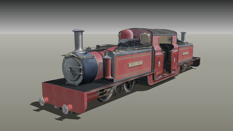 Double Fairlie with Buffers