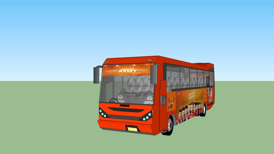 IPL Sunrisers hyderabad Team bus
