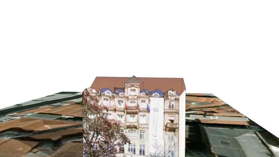 House near Oporto Municipal Hall