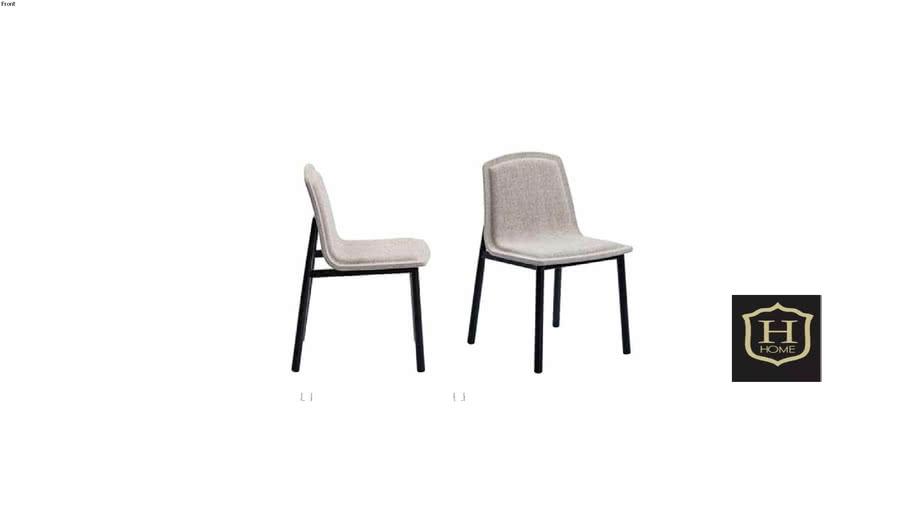Cadeira Moi sem braço
