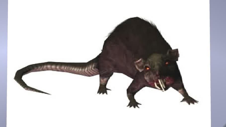 Tomb Raider Anniversary - Rat