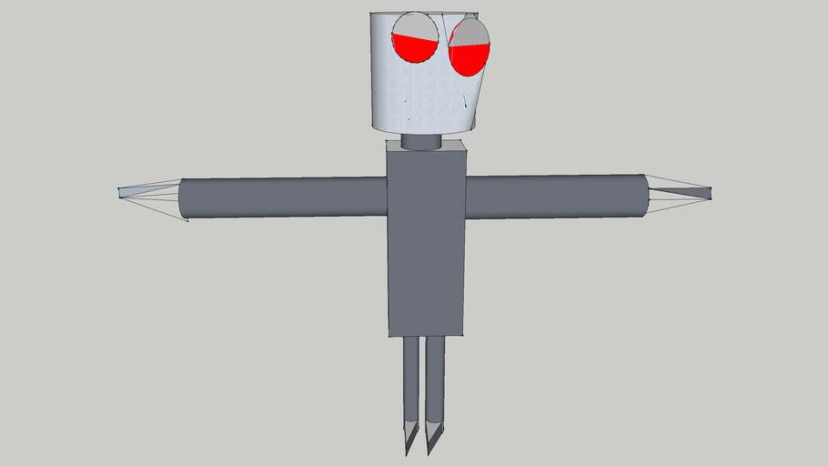 robot made by juan