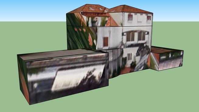 Edificio residenziale al Lido di Venezia, Italia