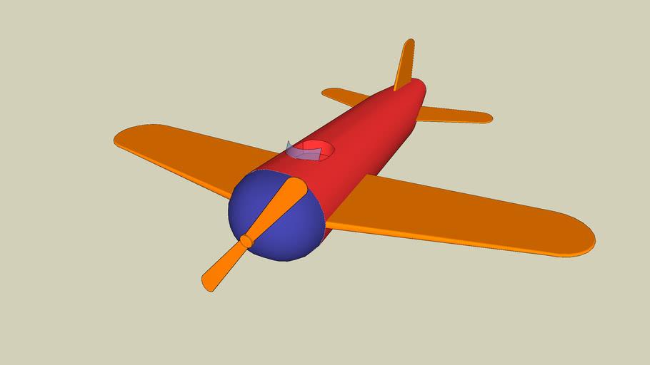 Toy monoplane