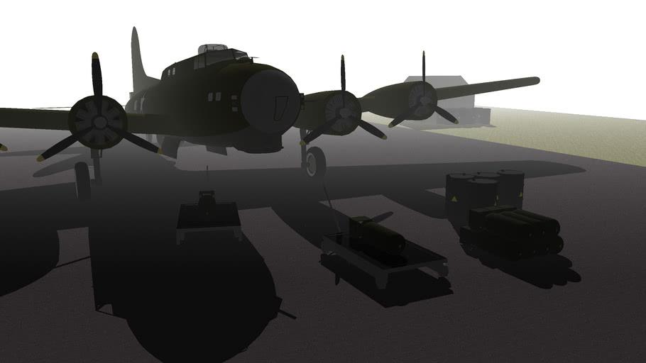 B-17 airfeild