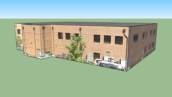 Building in Norfolk, VA, USA