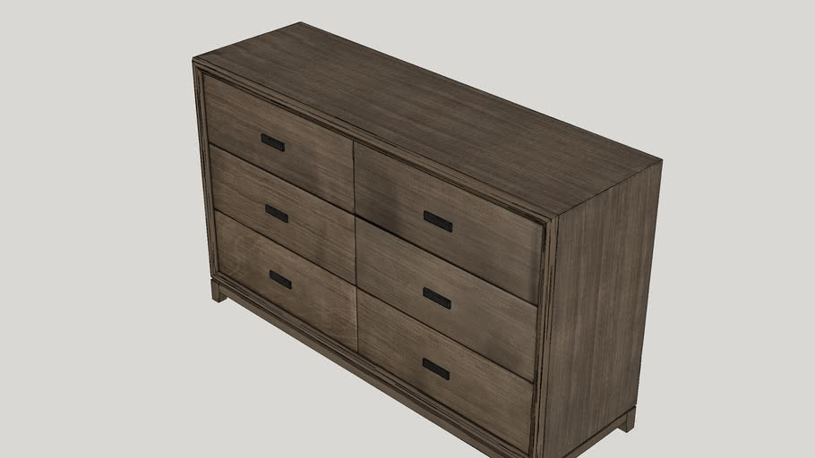 Camilla 6 Drawer Dresser