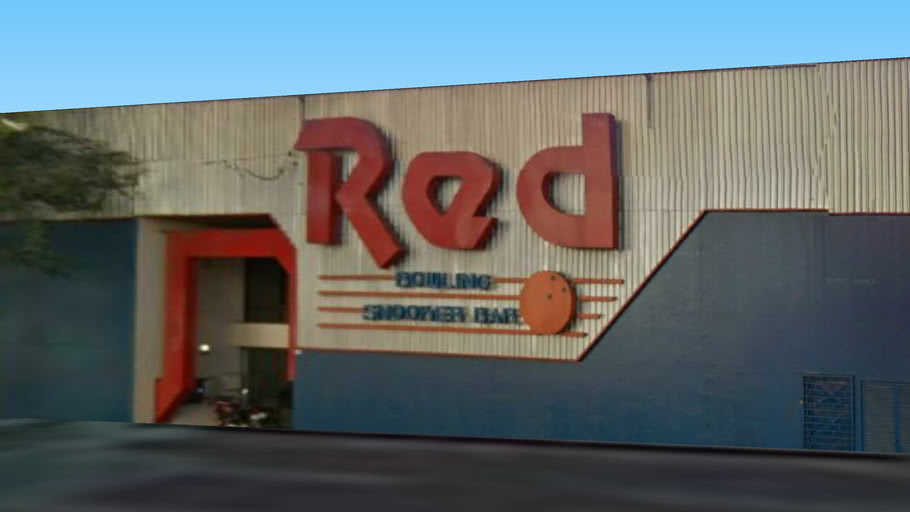 Red Bowling Snooker Bar