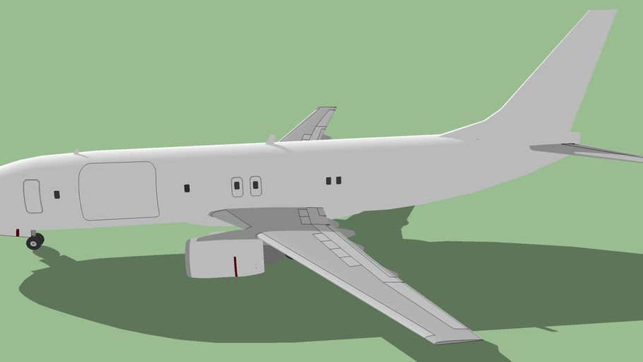 Template - Boeing 737-400F