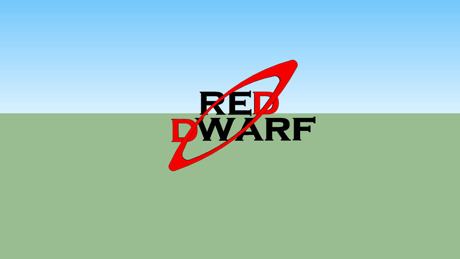 3d reddwarf logo up date