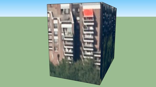 Budova na adrese Etterbeek, Belgie