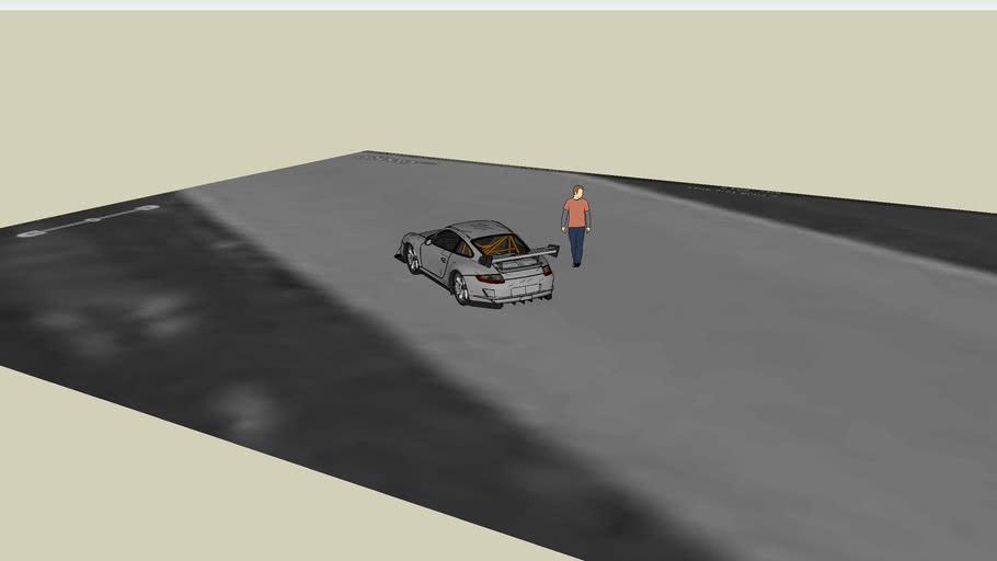 Porsche GT3 at Autobahn CC