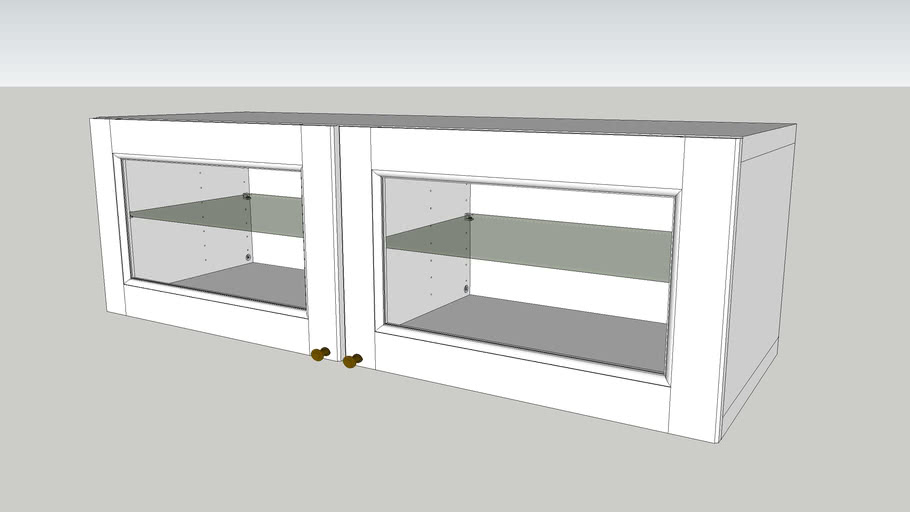 Ikea Besta Tv Desk Top Closet 3d Warehouse