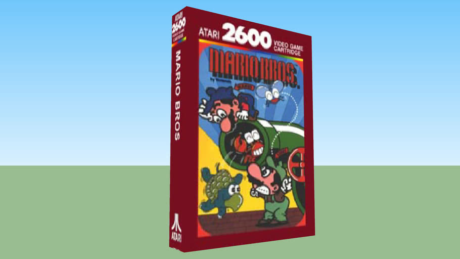 Atari 2600 - Mario Bros - Boxed Game - NTSC Version