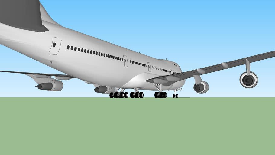 Boeing 747-100SR PW-JT9D-7A