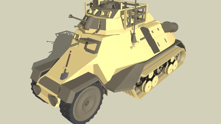 half track/ APC / armored car