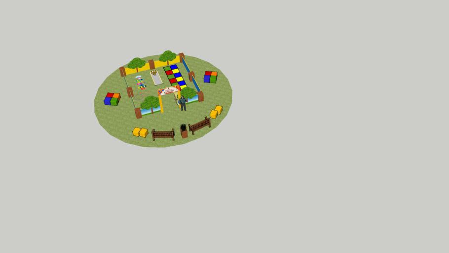 Praça Infantil para Shoppings