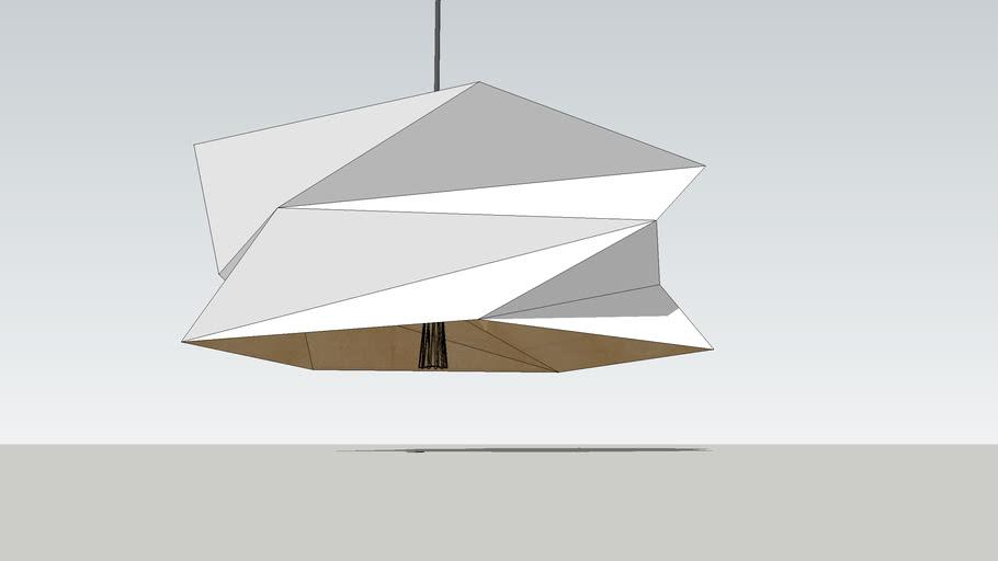 Carton lamp 16