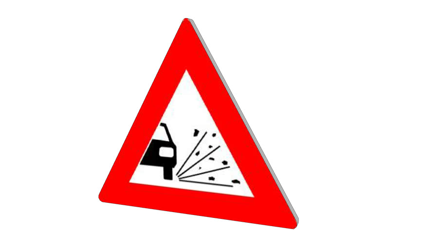 Dutch traffic sign, J25