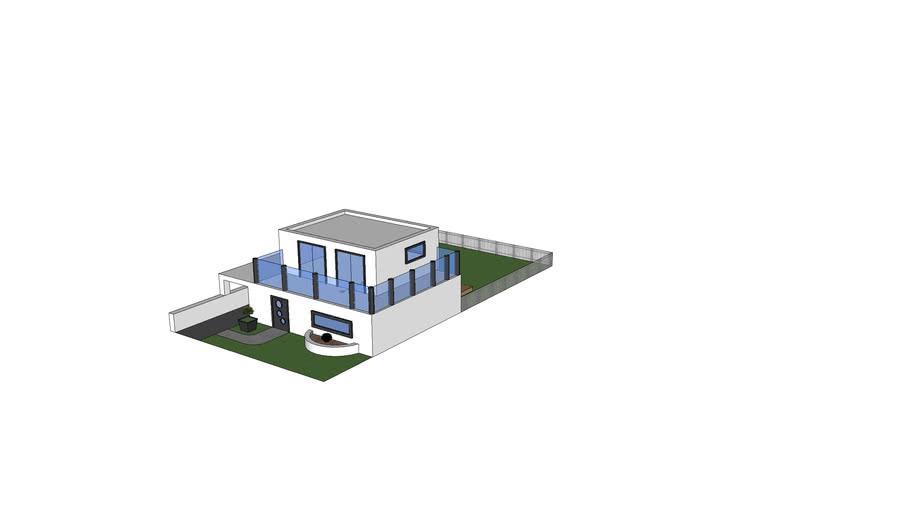Maison Contemporaine 3d Warehouse