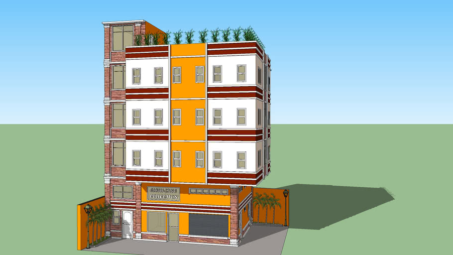 4-storey with RD and mezzanine