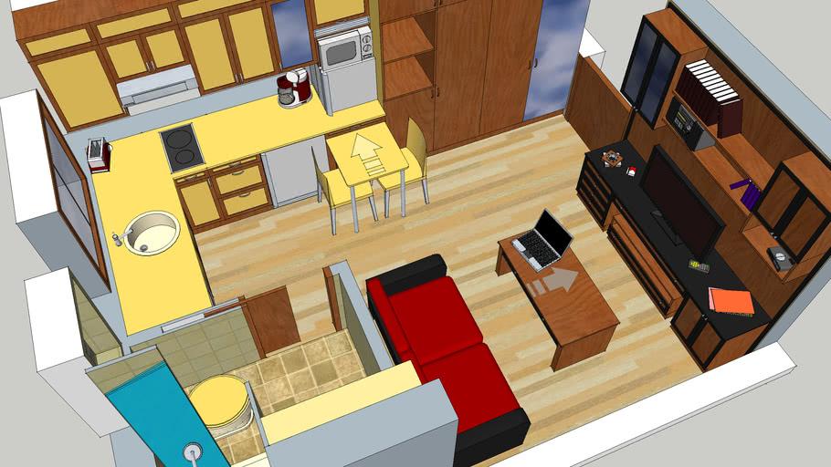 Apartment 18 m2