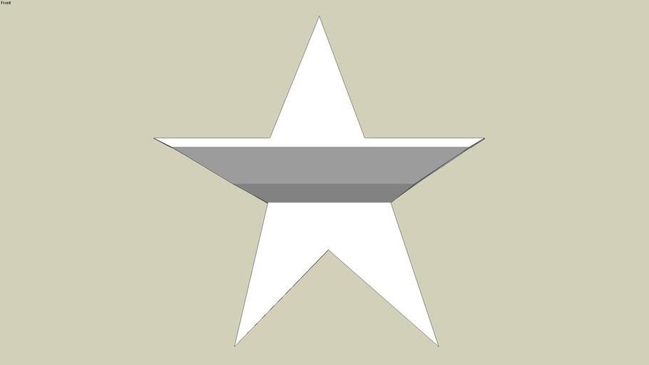 Five/Four pointed star