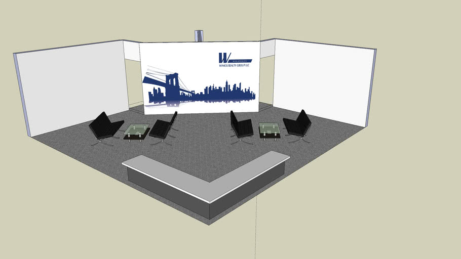 2010 ICSC BOOTH SKETCHUP